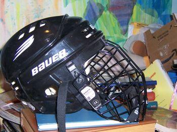 Hockeyhelmet