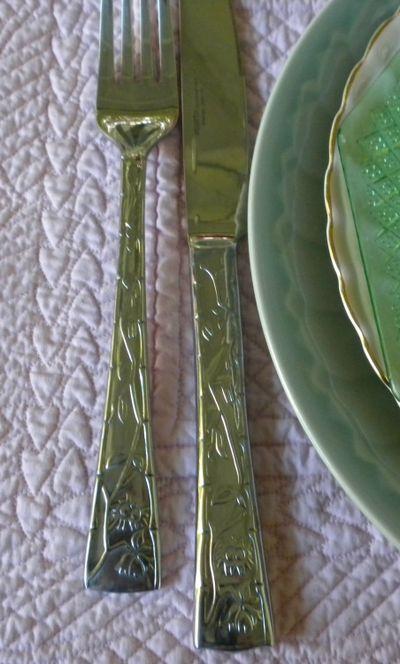 Sunflowerpatternflatware