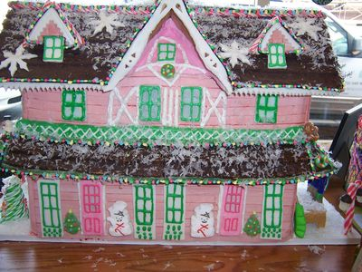 Pinkgingerbreadhouse