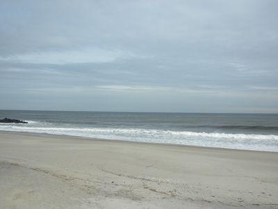 Grayday at beach