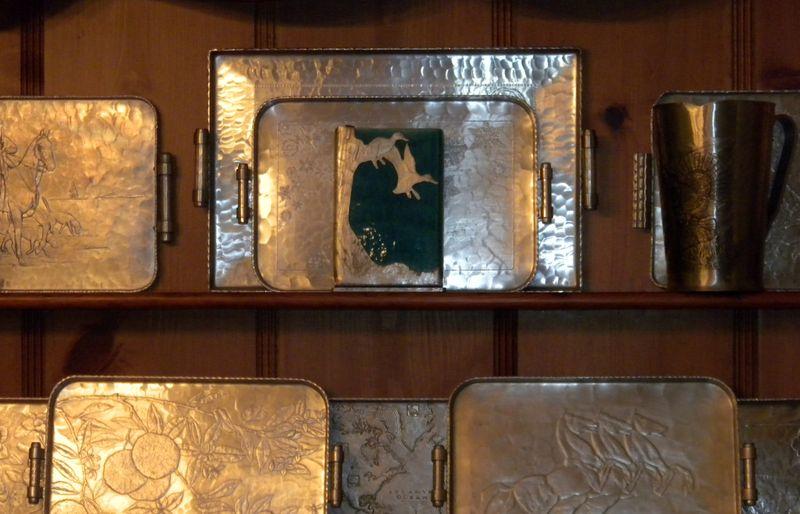 Aluminumwafvase