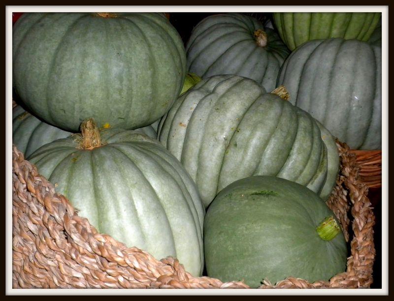 Pumpkins inside