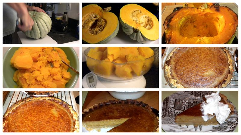 Pumpkin pie grid