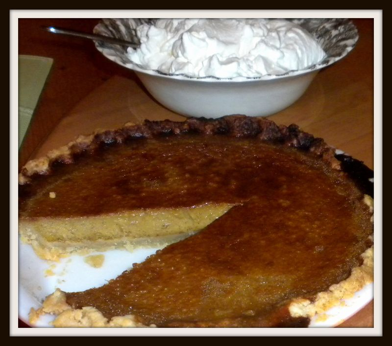 Pumpkin pie perfect